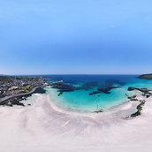 Beautiful coast, Blue sea(Hamdeock Beach)